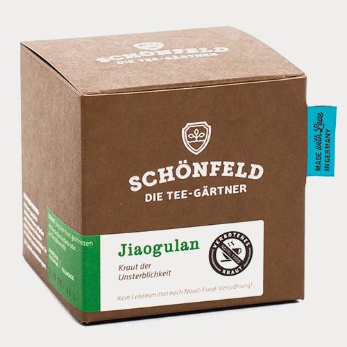 Verpackung Jiaogulan - Kein Lebensmittel!