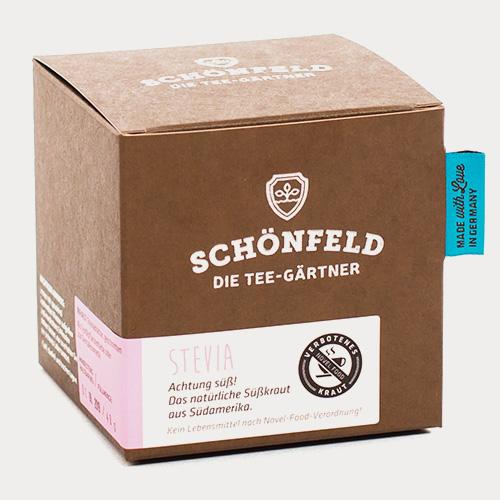 Verpackung Stevia - Kein Lebensmittel!