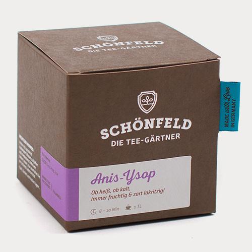 Verpackung Anis-Ysop